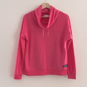 Simply Southern Pink Cowl Neck Sweatshirt